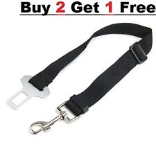 Dog Safety Seat Belt Restraint For Car Van Lock Adjustable Pet Lead Travel Colla