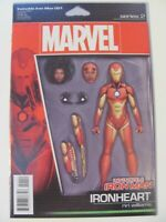 Invincible Iron Man #1 Marvel 2017 Riri Williams Ironheart Action Figure Variant