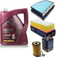 Ölwechsel Set 5L MANNOL Energy Combi LL 5W-30 Motoröl + SCT Filter KIT 10138368