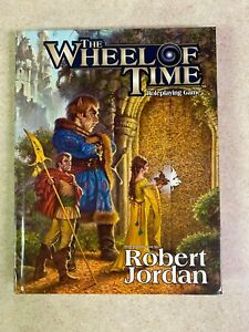 The Wheel Of Time Roleplaying Game By Robert Jordan D20 D&D Hardcover RPG TSR