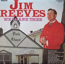 JIM REEVES - WE THANK THEE - LP