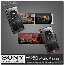 Original Sony Ericsson W980 Mobile Phone Bluetooth 3.15MP Unlocked 3G W980i
