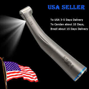 NSK Type Dental 1:1 Low Speed Handpiece Fiber Optic Contra Angle