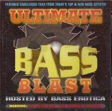 ULTIMATE BASS BLAST - Hosted by Bass Erotica - CD - 1995   F/S