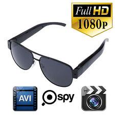 Mini 1080P Spy Hidden DV DVR Video Camera Camcorder Eyewear Glasses Sunglasses