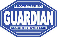 Guardian Security Systems - SECURITY SIGN- #PS-412