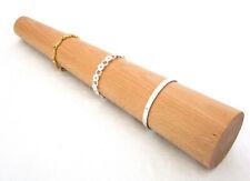 Round Solid Wood Bracelet Mandrel