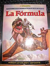 SEGRELLES IL MERCENARIO LA FORMULA  edizioni EPC 1985 cartonato a colori