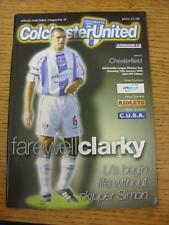 19/01/2002 Colchester United v Chesterfield  (No Obvious Faults)