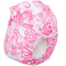 Cloth Diaper ALVA One Size Girl Reusable Washable Nappy +1 Insert S29