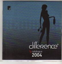 (AS288) Difference, Catalogue 2004 - DJ CD