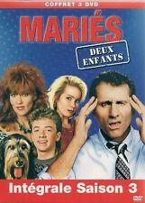COFFRET SERIE TV 3 DVD--MARIES DEUX ENFANTS--INTEGRALE SAISON 3