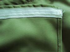 1 Thermo Verdunkler Vorhang Gardine uni grün auf Kräuselband B/H 280 x 145  NEU