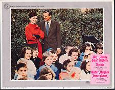 CHARADE original lobby card # 5 AUDREY HEPBURN/CARY GRANT 11x14 movie poster