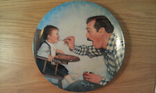 """Collectors Plate """"Open Wide"""" Father's Love 8 1/2"""" Limited Edition 1984"""