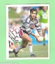 1993 SELECT RUGBY LEAGUE  STICKER - #100  ALI DAVYS, GOLD COAST SEAGULLS