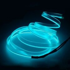 Led Cold Lights Car Interior Lighting Decoration Strips Lamps Neon El Wire Auto