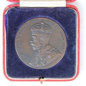 UK 1924 British Empire Exhibition Medal in Original Box (3330951/H2)
