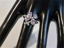 Bigiotteria viola placcato argento con ametista
