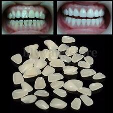 100Pcs Dental Ultra-Thin Whitening Veneers Resin Teeth Upper Anterior Shade
