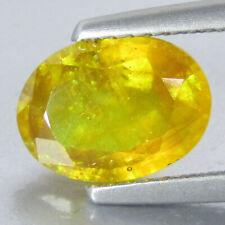 2.51Cts Ravishing Natural Yellow Sapphire Oval Shape Loose Gemstone Ref VDO