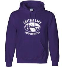 Camp CRYSTAL LAKE Hoodie Sweatshirt - Friday the 13th Horror Movie Jason Custome