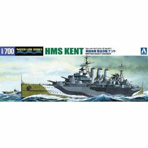 Aoshima 1/700 British Heavy Cruiser HMS Kent Kit (New)