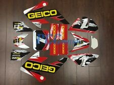 GEICO GRAPHICS DECAL STICKERS KIT HONDA CRF50 CRF 50 F 2004-2014 SDG SSR U DE65
