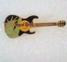 Hard Rock Cafe Guitar Pin NEW YORK Statue of Liberty Guitar