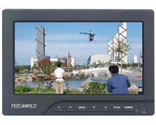 FPV769A Ground Station FPV 7 HD Monitor w/ Sun Shield 800 × 480 Pixels