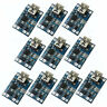 10pcs 5V MINI USB 1A 18650 TP4056 Lithium Battery Charger Module Charging Board