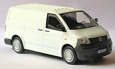 VW Volkswagen T5 Kastenwagen Transporter Van 2003-09 weiss white 1:43