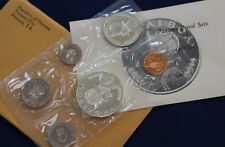 1969 Panama 6 Coin Proof Set with 1/2 & 1 Silver Balboas Original Package E2168