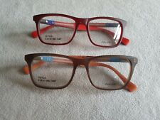 Police Teen glasses frames. TRICK 1. Brown or red.