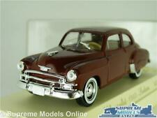 CHEVROLET SEDAN 1950 MODEL CAR 1:43 SCALE SOLIDO 4508 AGE D'OR USA AMERICAN K