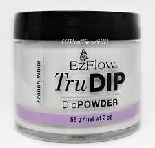 EzFlow TruDIP Colored Acrylic Dip Powder 2oz/56g SERIES 1 - Pick Your Color
