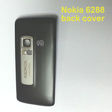 100% Genuine New Original Nokia 6288 Back Cover Fascia Housing - Black.grey