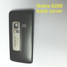 100% Genuine New Original Nokia 6288 Back Cover Fascia Housing - Black.grey