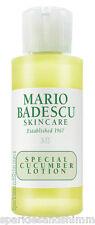 Mario Badescu SPECIAL CUCUMBER LOTION Face Toning Facial Toner 59ml TRAVEL SIZE