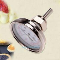 """1/2"""" Stainless Steel Thermometer for Moonshine Still Condenser Brew Pot Oven"""