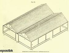 Barn Poultry Farm Building Plans Dairy & Stables Chicken Coop on CD ROM disc