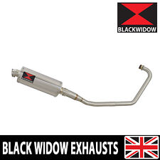 SYM XS 125-K 2007-2016 Exhaust System 300mm Oval Stainless Silencer 300SS