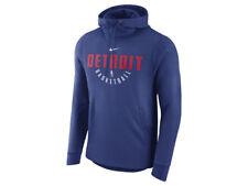 Nike Men NBA Detroit Pistons Practice Therma Hoodie 877771-495;Sizes L,XL or XXL