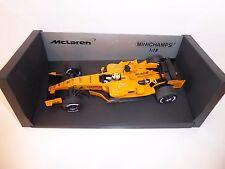 "Rare McLaren Mercedes MP4-21 ""Montoya"" - 1/18th, interim livery, 2006 Minichamps"