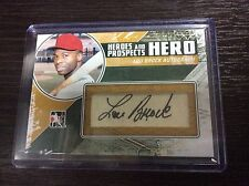 2011 ITG In The Game Heroes Prospects Lou Brock Cut Auto Autograph