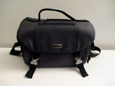 Genuine Nikon Deluxe Digital SLR DSLR Black Padded Shoulder Camera Bag Nice!