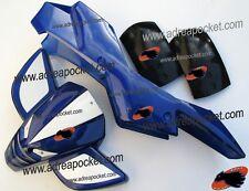 Kit Carénage type 2 bleu / blanc Pocket Quad 47 / 49cc