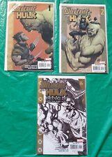 Ultimate Hulk vs Wolverine 3-Issue Lot !! LOOK !!