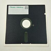 "Maniac Mansion - Home Copy - 5.25 Floppy Disks 5 1/4"" Vintage Computer Game"