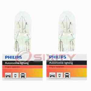 2 pc Philips Map Light Bulbs for Jeep Grand Cherokee Liberty 1999-2006 jb